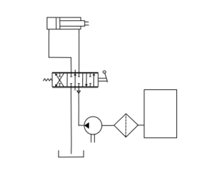 Hydraulic circuit schematic directional control.png