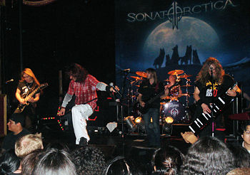 Sonata Arctica im September 2007